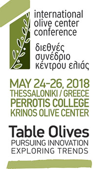 1st INTERNATIONAL OLIVE CONFERENCE | TABLE OLIVES: PURSUING INNOVATION - EXPLORING TRENDS
